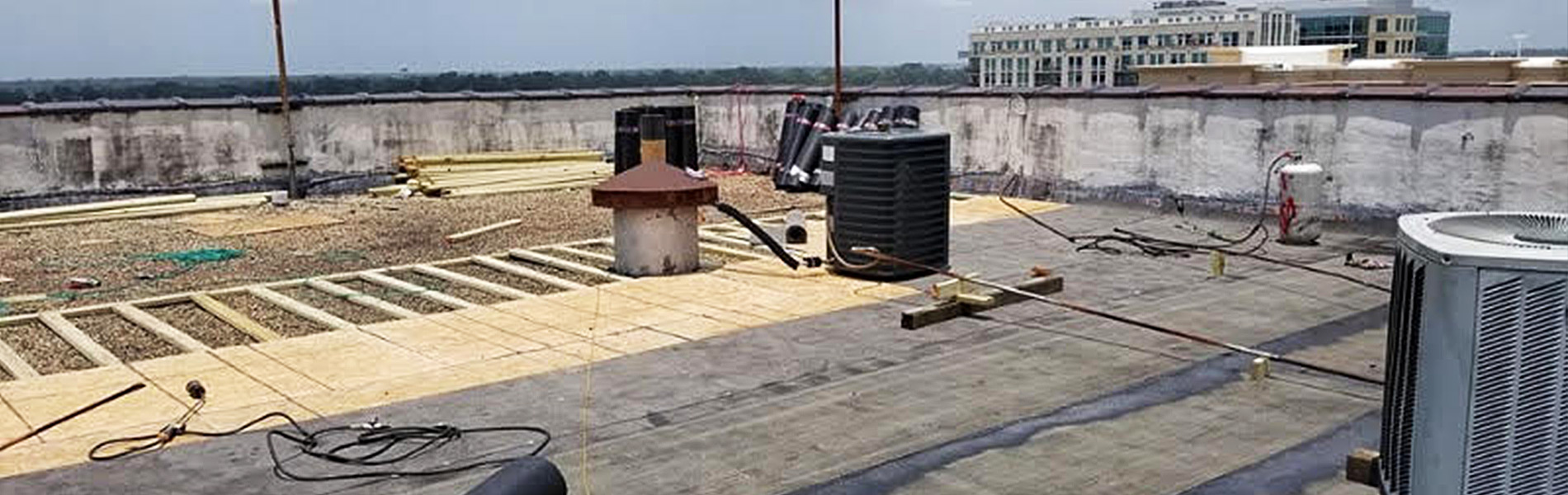 Flat Roof Repair And Installation Service In Baton Rouge La